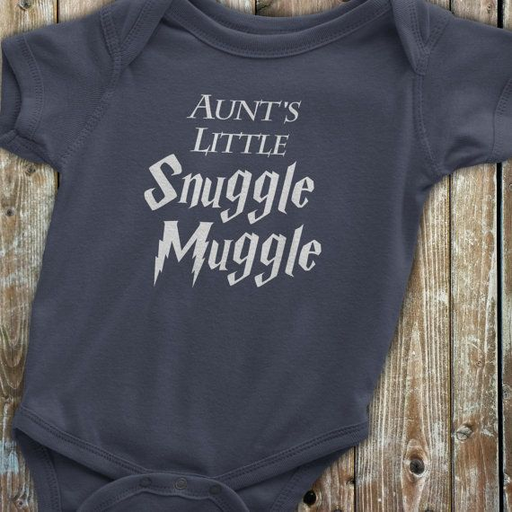 c98a49662 Harry Potter Baby Aunt Onesie Harry Potter by KennieBlossoms