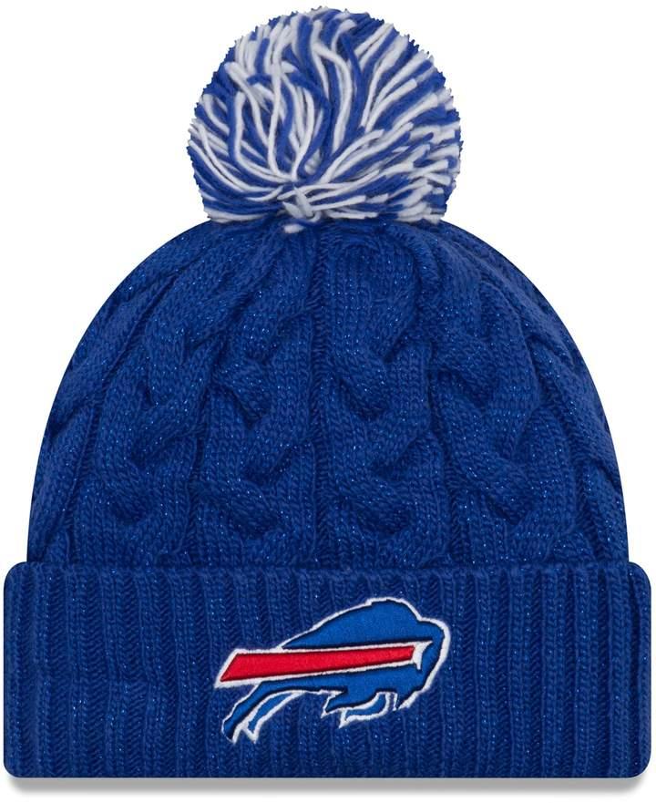 2cafb3a1 Adult New Era Buffalo Bills Cable Knit Beanie   Products   Buffalo ...