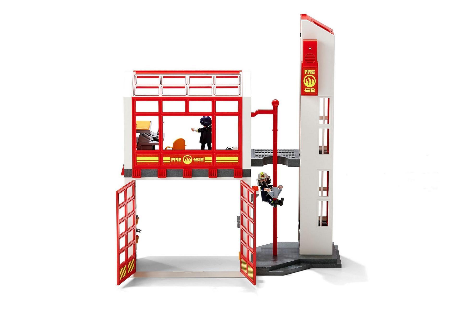 Fire Station With Alarm 5361 Playmobil Usa Lou S 3rd Birthday