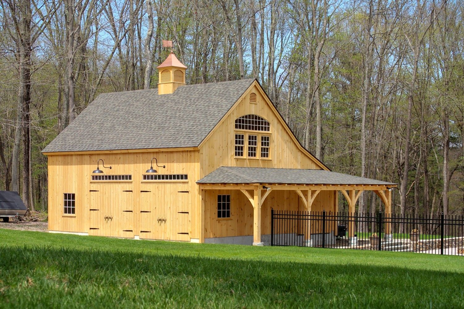 Welcome home boston magazine post and beam barns ct ma ri timber frame kits custom garages timber frame pavilions the barn yard great country