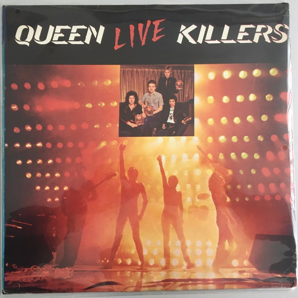 Queen - Live Killers - Korea - Rare different front and back sleeve
