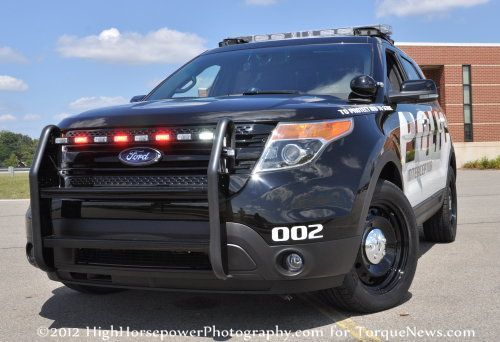 Ford Police Interceptor Utility vehicle | Ford Police