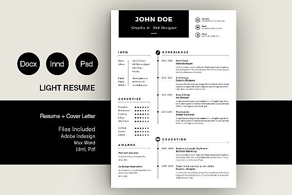 Simple Resume  Resumes    Creative Resume Templates