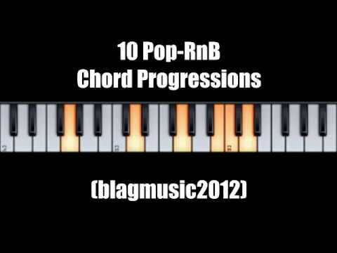 10 Pop Rnb Chord Progression For Vocalists And Songwriters