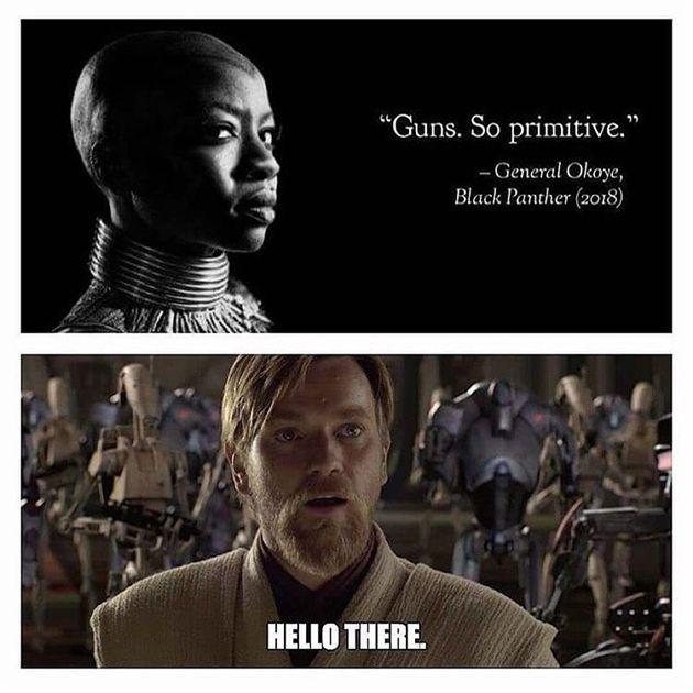 Marvel Meme Black Panther Meme Star Wars Funny Star Wars Star Wars Meme Obiwan Star Wars Humor Star Wars Memes Star Wars Comics