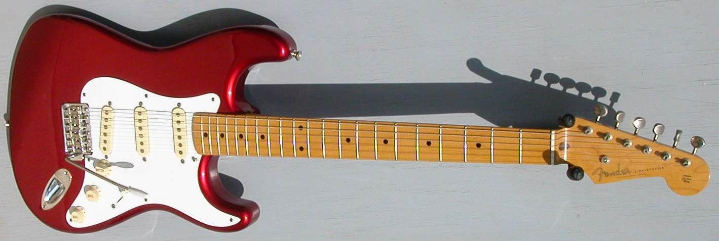 1996 Fender Stratocaster 50's Reissue MIJ Candy Apple Red