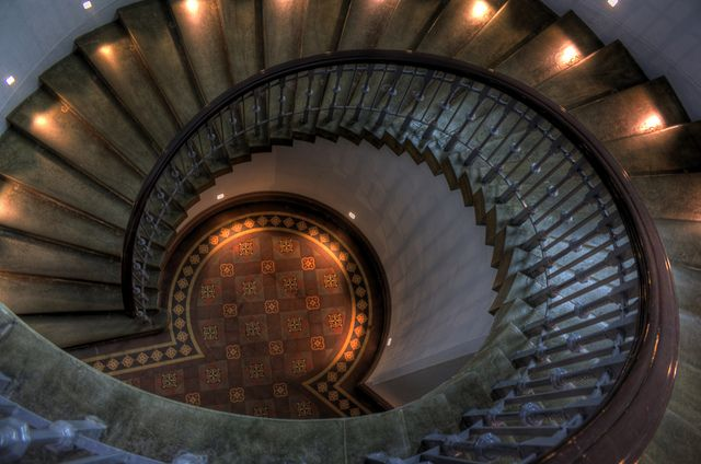 Best Ornate Spiral Staircase At The Mcmanus Galleries Dundee 640 x 480