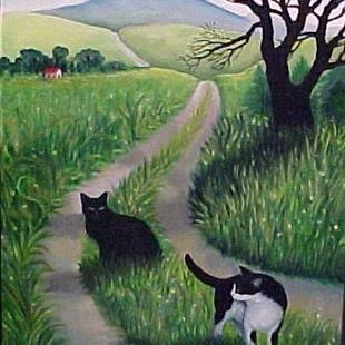 Art FAR ENOUGH by Artist Rosemary Margaret Daunis