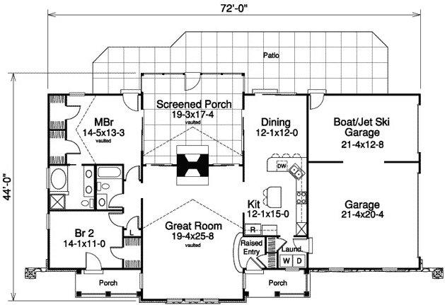 2 Bedroom 2 Bath Cabin Lodge House Plan Alp 09gz Country Style House Plans House Plans Floor Plans
