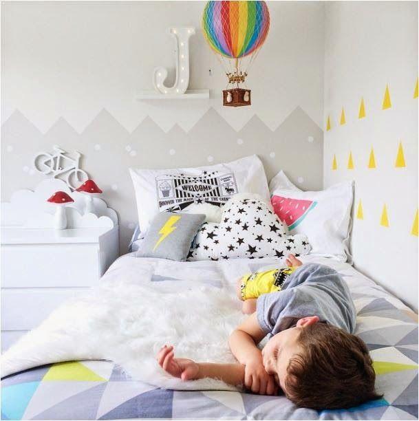 a vaia eo menino: quartos de crianças no Instagram