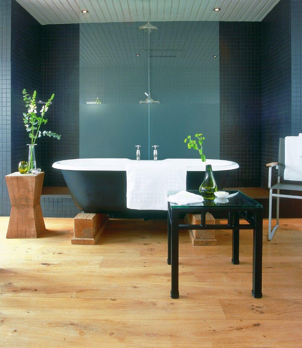 Rimini cast iron bath at Hotel du Vin | Decor ideas | Pinterest ...