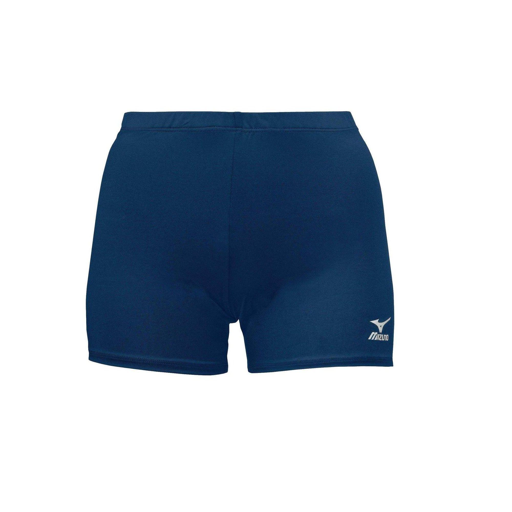 Mizuno Womens Volleyball Apparel Vortex Short 440202 Size Small Navy Blue 5151 Volleyball Shorts Volleyball Outfits Size Girls
