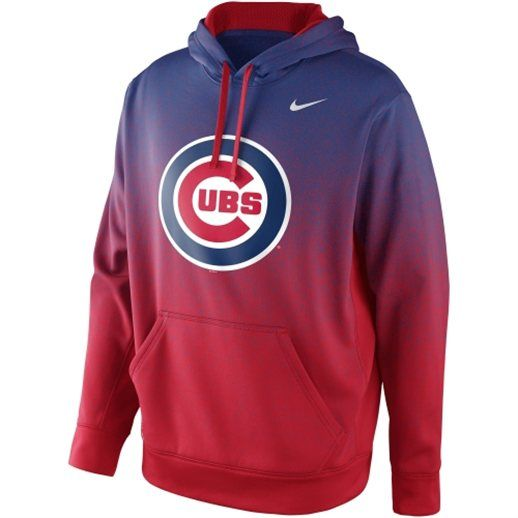 premium selection 1932e cf232 Nike Chicago Cubs Mezzo Fade Performance Hoodie | clothes ...