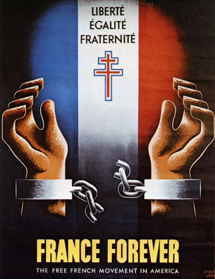 World War 2 France Forever Its funny to see the slogan of the French ...