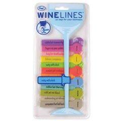 Wine Lines Wine Tags