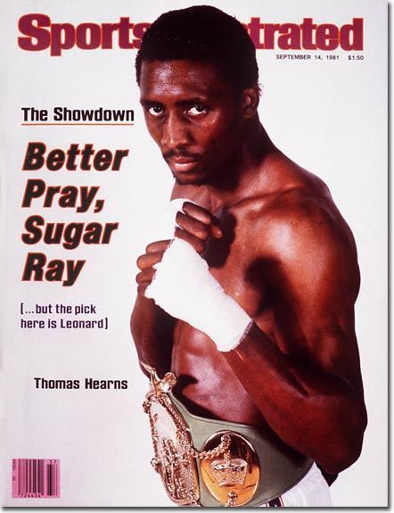 Thomas Hearns Boxing 09 14 81 Si Vault Sports Illustrated Si Cover Sports