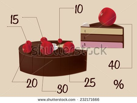 cake  delicious chocolate cake with cherries with a piece cut off http://www.shutterstock.com/g/Og+Tatiana?rid=2220188