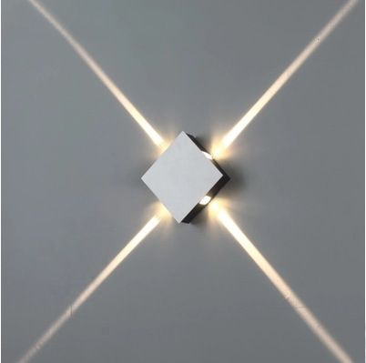4 Narrow Beam Indoor Wall Effect Light Led Architectural Facade Lighting 4 Emission Led Wall Sconces Ac90 26 Led Wall Lights Facade Lighting Wall Lamps Bedroom