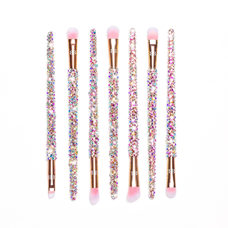 BlingedBrushes Bling makeup, Makeup brushes, Lipstick