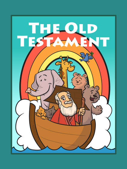Bring The Stories Of Old Testament Into Vivid Color With This Beautifully Illustrated Coloring Book