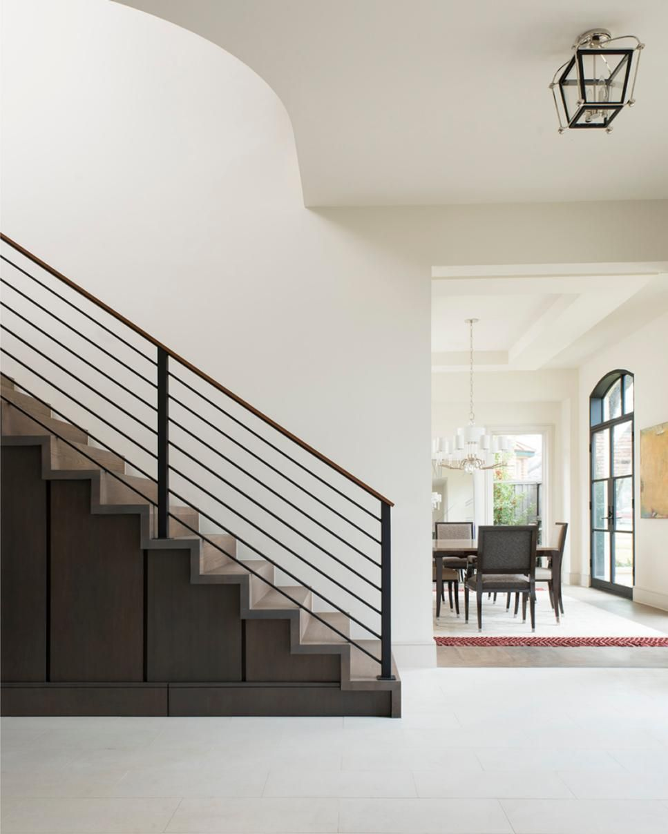 Design Contemporary Stair Railing stunning stair railings centsational girl staircases clean bright and minimalist the foyer sets tone for this contemporary home