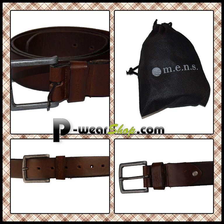 d8c68954534e Pour l achat de cette ceinture en cuir brun 15% de remise immédiate sur