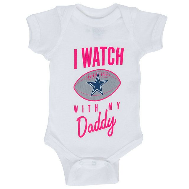 f61c7e269 Dallas Cowboys Infant Watch With Dad Bodysuit