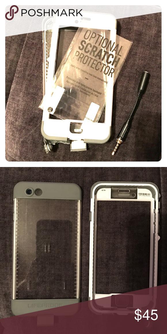 Iphone 66s Lifeproof Nuud Case My Posh Picks Pinterest Screen