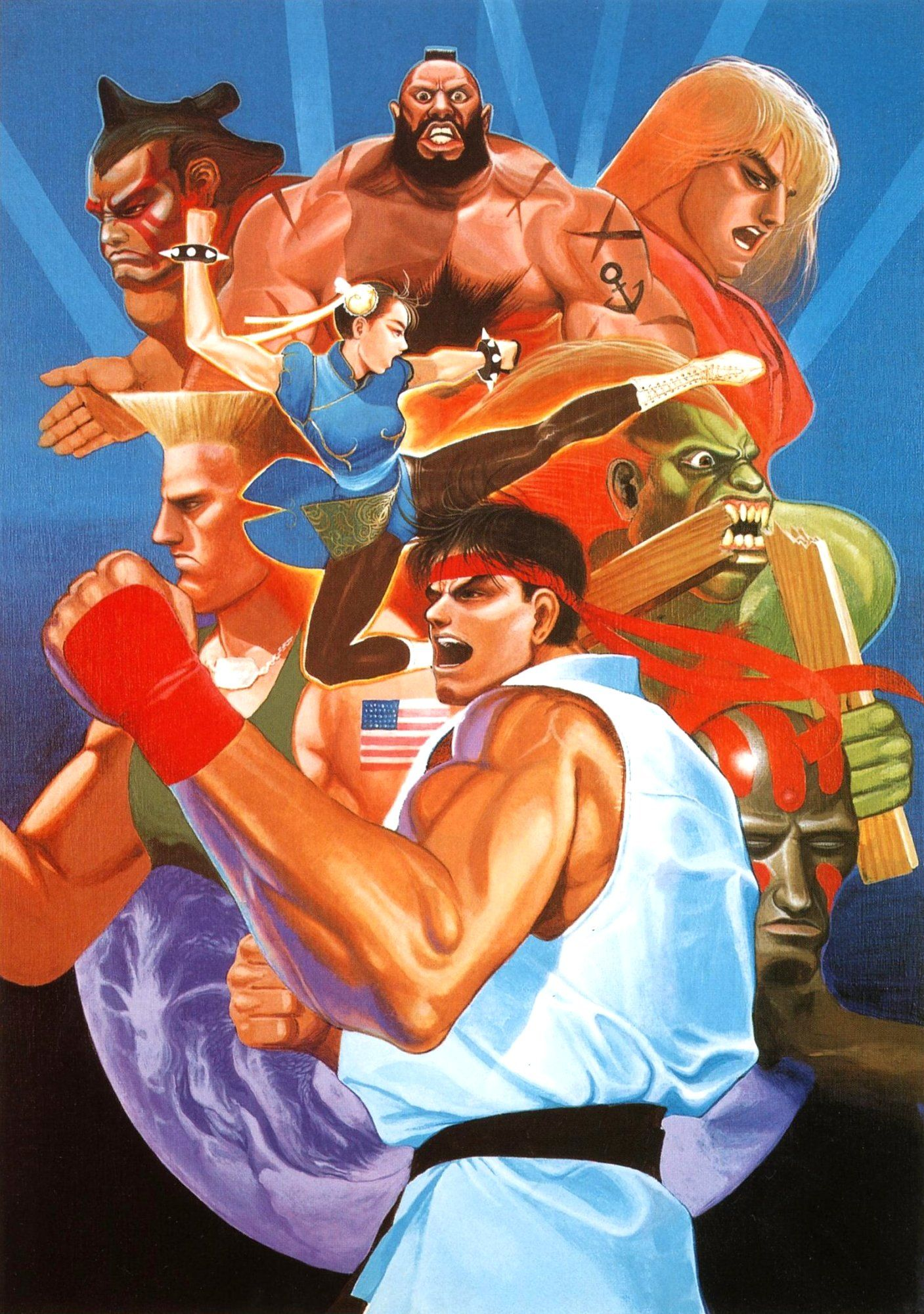 Street Fighter Series | Favorite Artworks | Street fighter 2