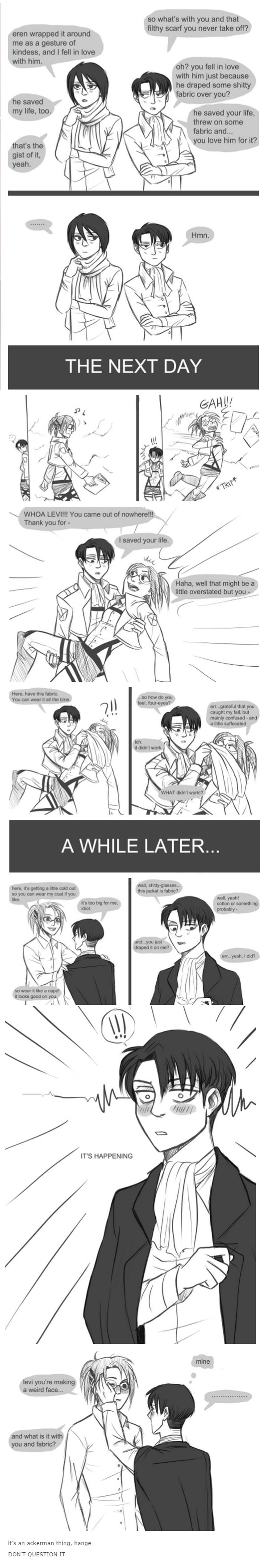 Pin by Melissa Ortiz on LEVIHAN COMICS | Attack on titan