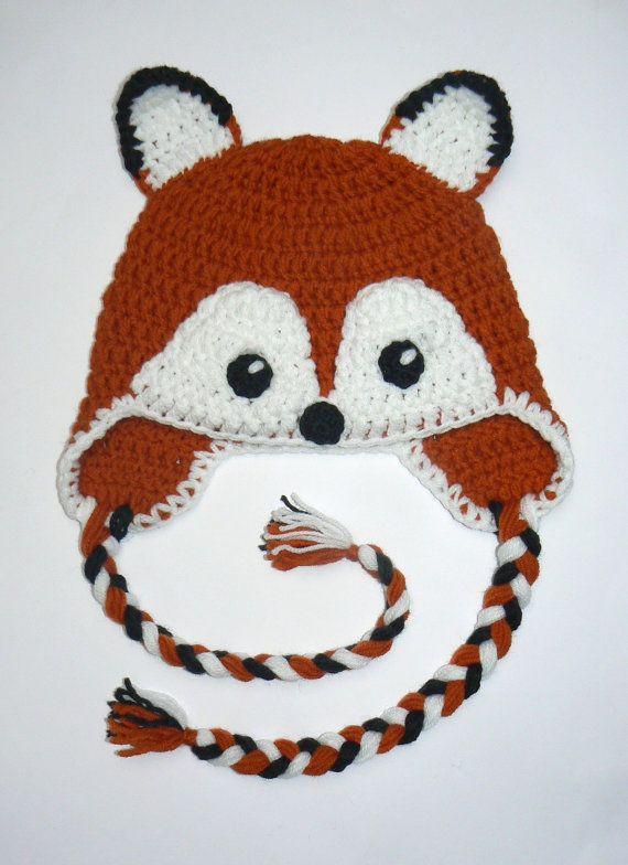 FOX Hat for Kids 2021 Girls Boys Hat Earflap Hat Animal by 2mice ...