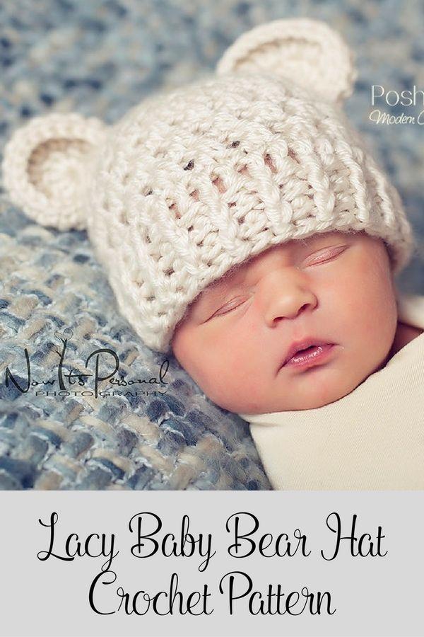 Image result for baby bunny hat crochet pattern | Crochet | Pinterest
