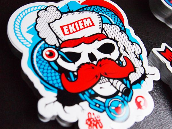 Sticker Design Behance
