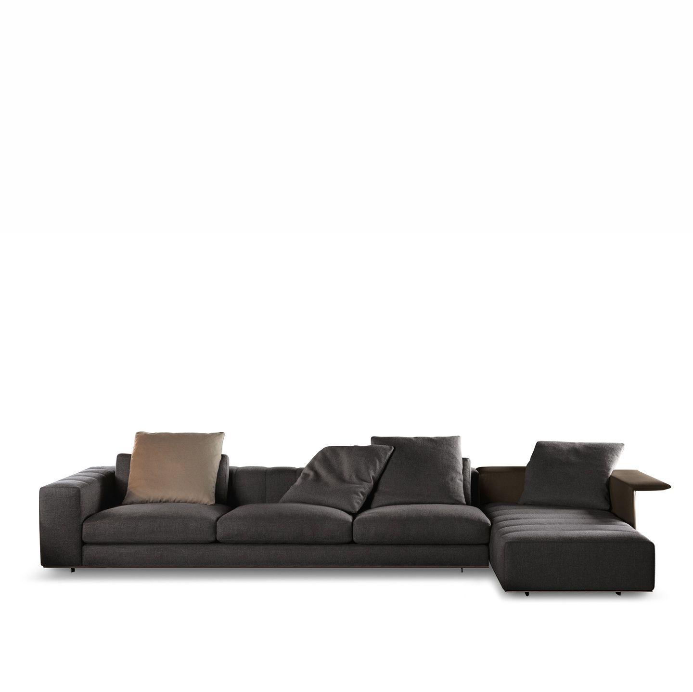 Sofa Freeman Duvet By Minotti Design Rodolfo Dordoni - Sofa