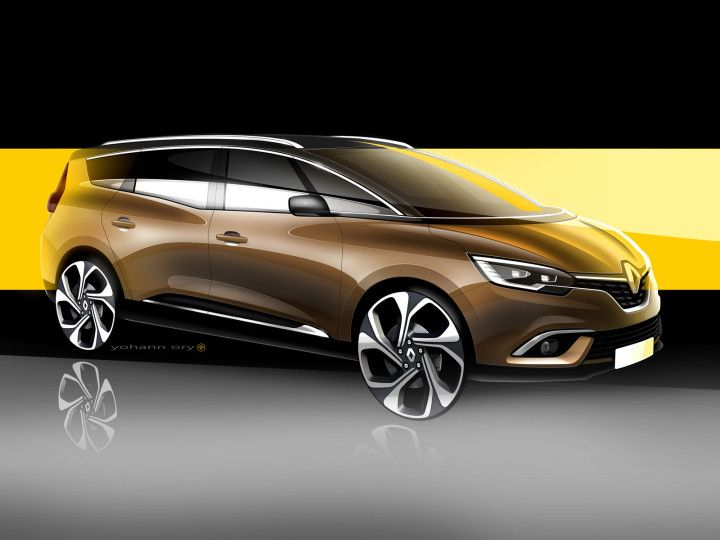 Renault unveils new Grand Scénic