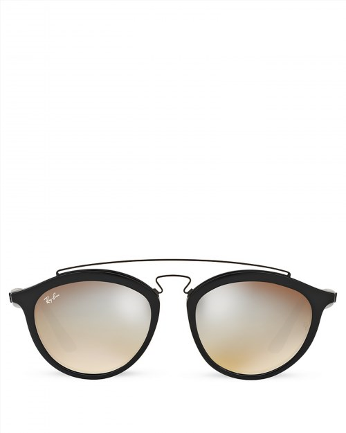 165.00$  Watch now - http://viulj.justgood.pw/vig/item.php?t=nt4hqd32652 - Ray-Ban Icons Mirrored Sunglasses, 58mm 165.00$