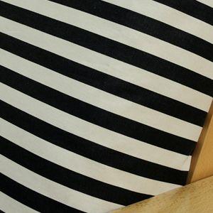 Midnight Stripe Futon Cover Is A Clical Horizontal
