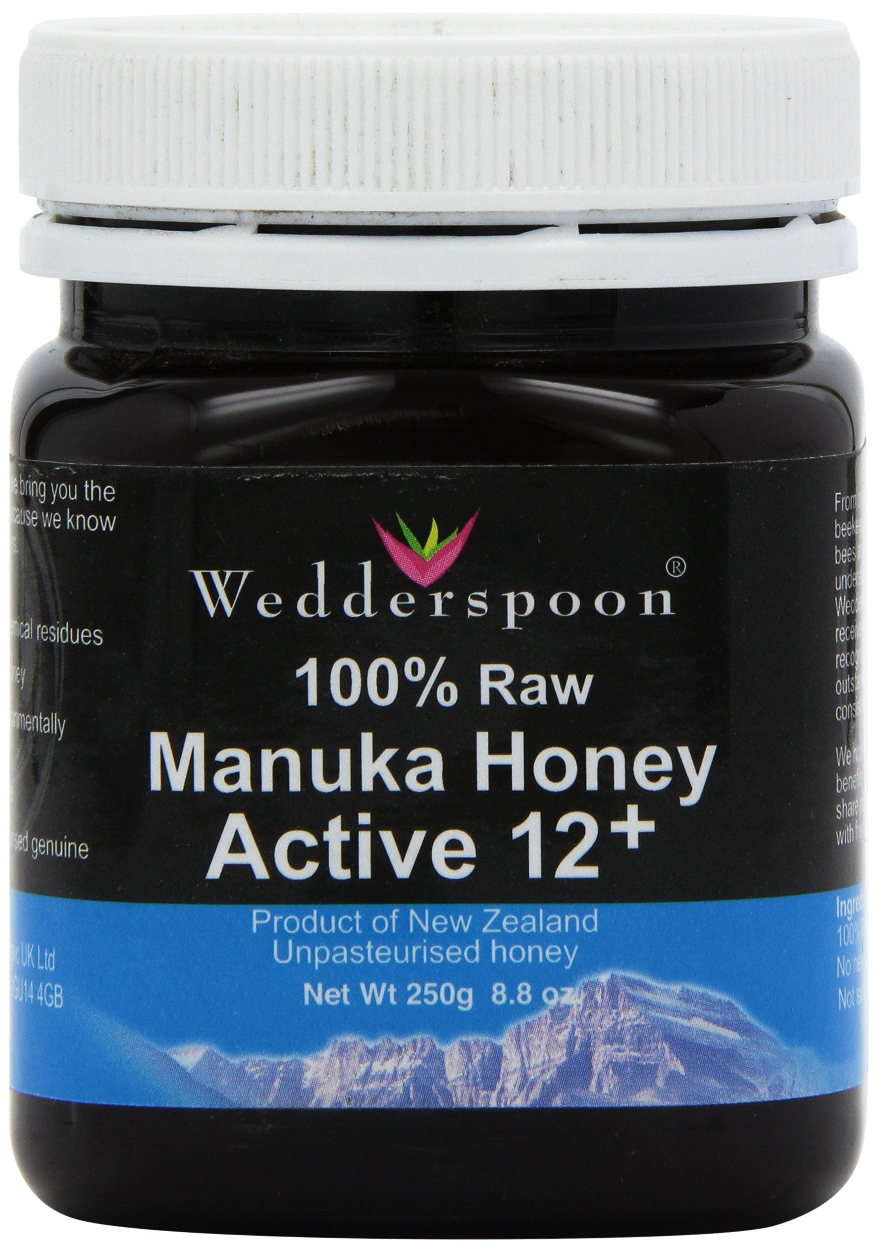 Wedderspoon 100 RAW Manuka Honey Active 12+ 250g Amazon