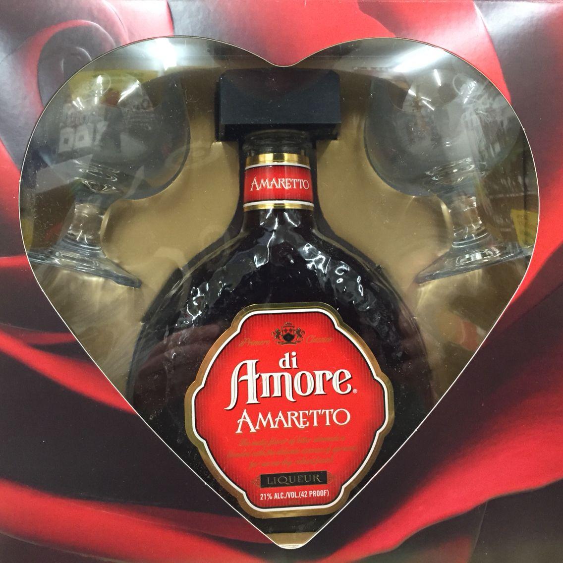 Di Amore Amaretto Gift Pack Whiskey Bottle Bottle Spray Bottle