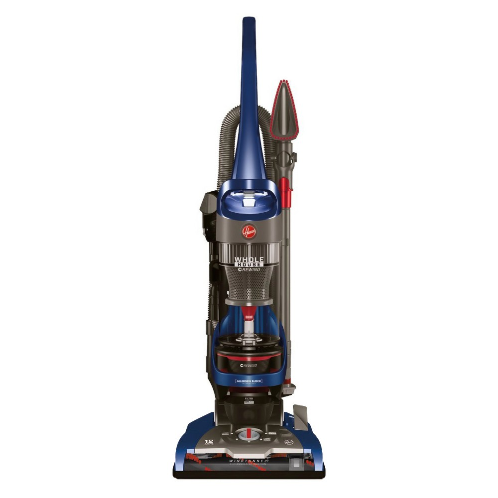 Hoover Wind Tunnel 2 Whole House Rewind Bagless Upright Corded Vacuum Cleaner - UH71250