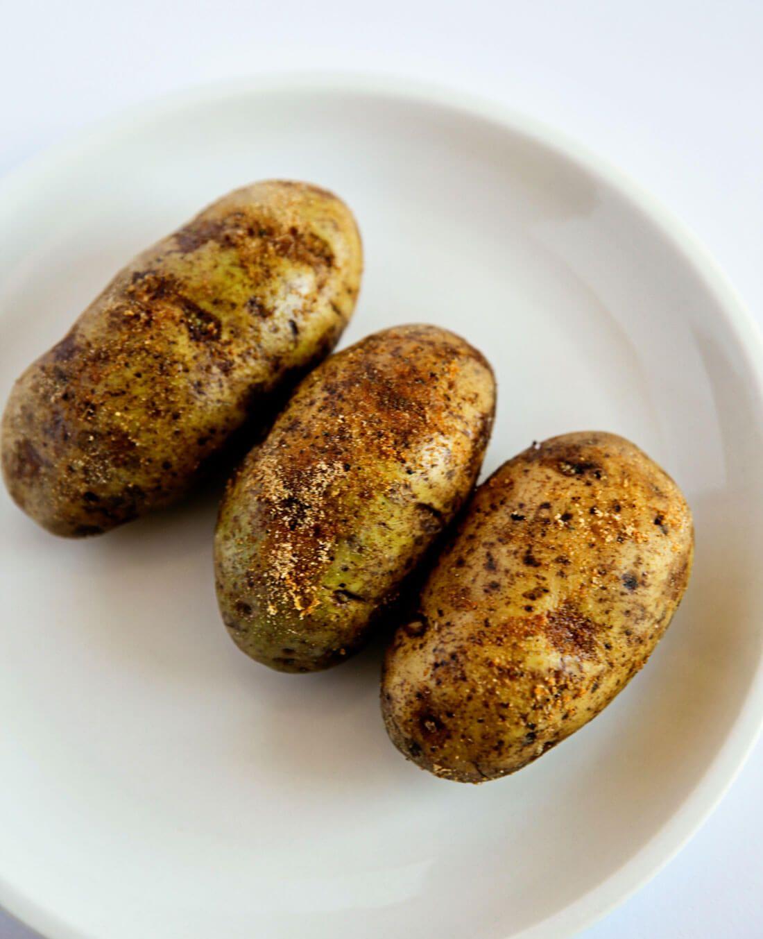 Air Fryer Baked Potatoes Recipe Air fryer recipes