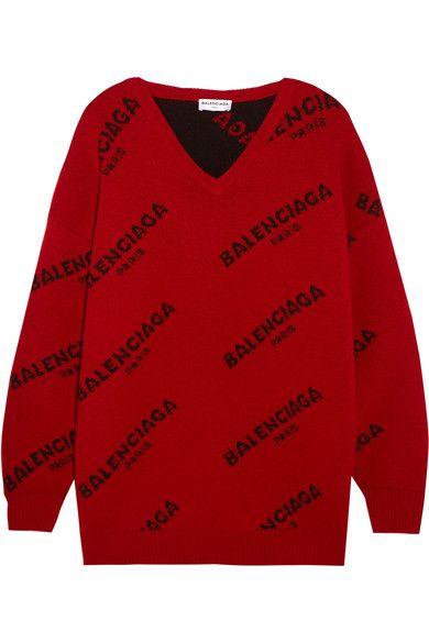 8733147b89635e BALENCIAGA . #balenciaga #cloth #knitwear | Balenciaga in 2019 | Red ...