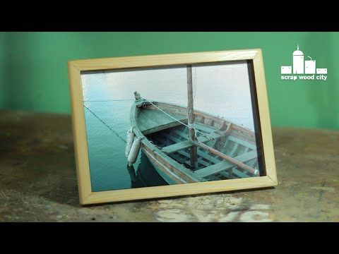 How To Make A Simple Picture Frame Out Of Wood Youtube How To Do