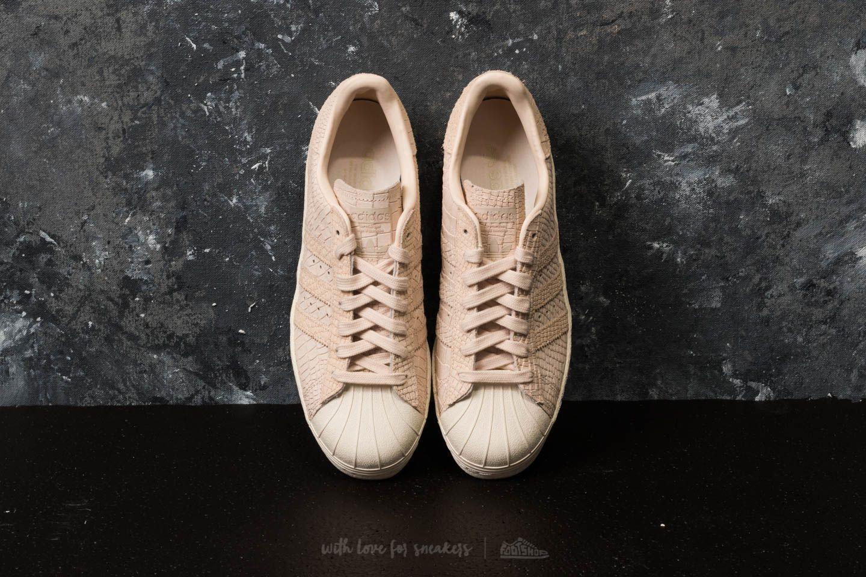 adidas Superstar 80s W Linen Linen Off White la un preț