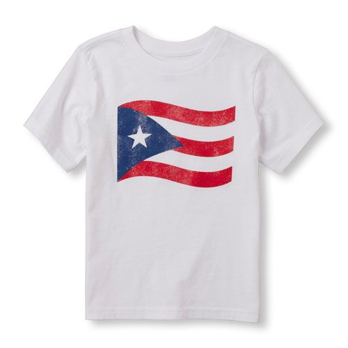 Toddler Boys Short Sleeve Puerto Rican Flag Graphic Tee The Children S Place Toddler Shirts Boy Toddler Boys Boys Shirts