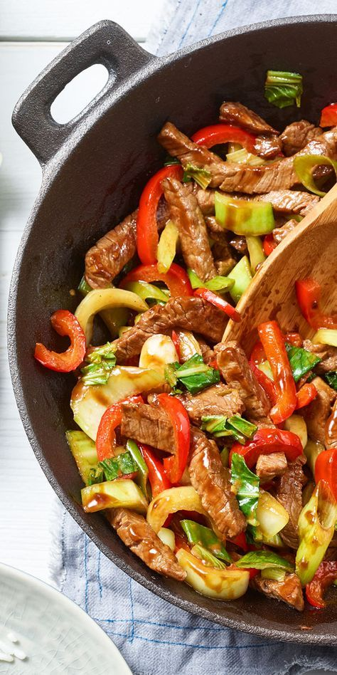 Photo of Pak Choi Beef Teriyaki