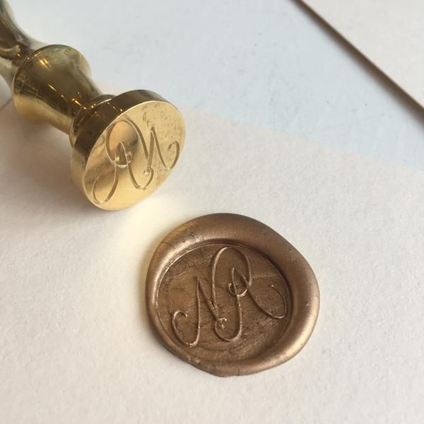 Wedding Gift For Friend Who Has Everything: Bespoke Wax Seal In 2019