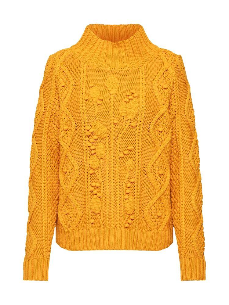 LIEBLINGSSTÜCK Pullover 'ShironaL' Damen, Curry, Größe XL