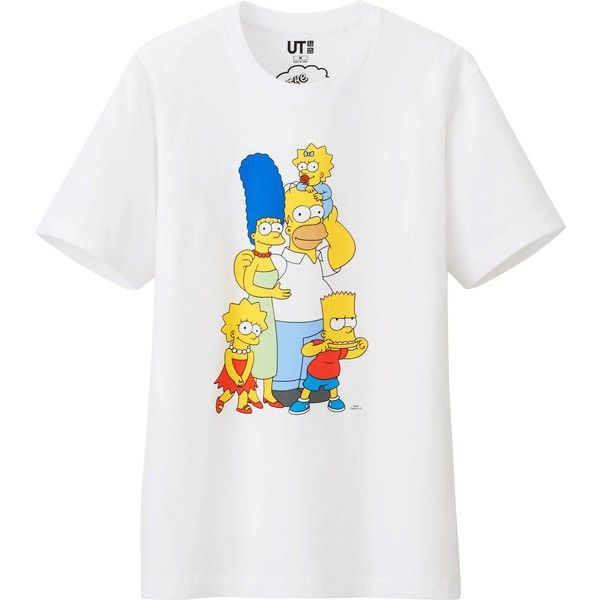 535c65af1 UNIQLO Men The Simpsons Graphic Short Sleeve T Shirt (7.95 AUD) ❤ liked on  Polyvore featuring men's fashion, men's clothing, men's shirts, men's t- shirts, ...