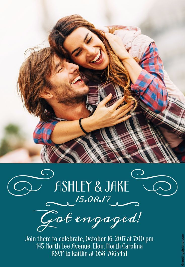 Send a Free, Printable Engagement Party Invitation Engagement - free engagement party invitations